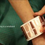 柔らかい素材を使った形が変わるユーザーインターフェース