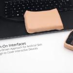 生体系からのアプローチをした人工肌を模擬したユーザーインターフェース