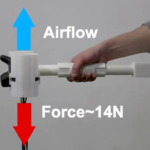 VR体験向けフォースフィードバック用の小型手持ちコントローラーの提案