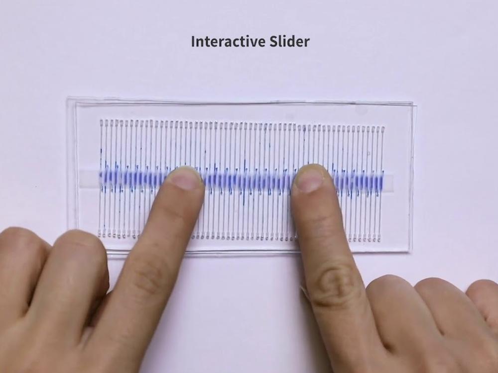Interactive slider