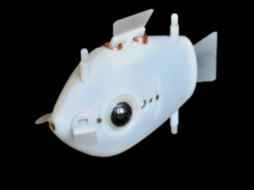 fish-inspired robot swarm